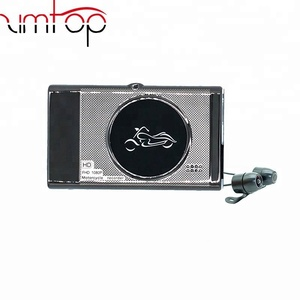"New 3.0"" TFT Motorcycle Camera DVR Full HD Dual 1080P Recorder Dash Cam Daul Waterproof Black Front Rear Recorder"