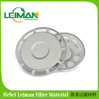 Air filter plastic End cover manufacturer for Auto parts Stainless metal Air Filter End Caps