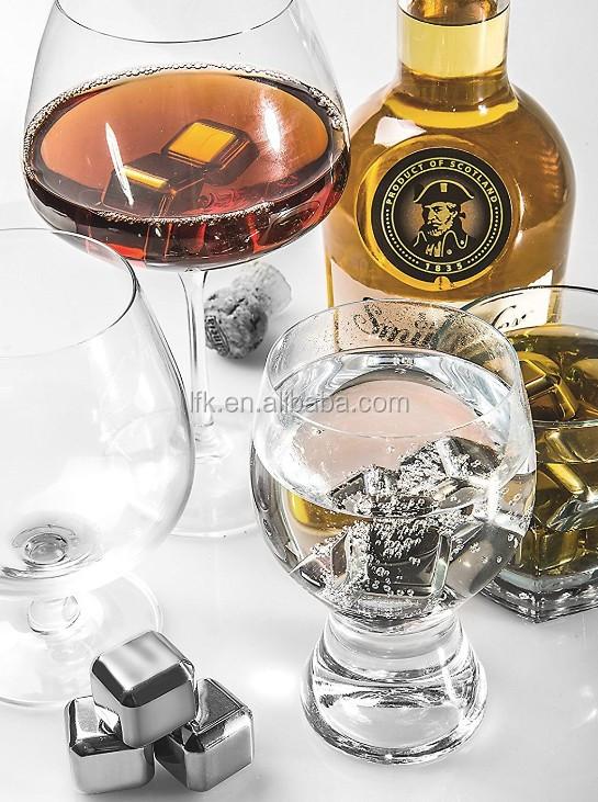 Пользовательские Камни виски, многоразовые кубики льда для бар напитков, Горячая продажа Amazon ZSLFK-IC01
