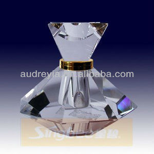 High quality perfume bottle crystal glass