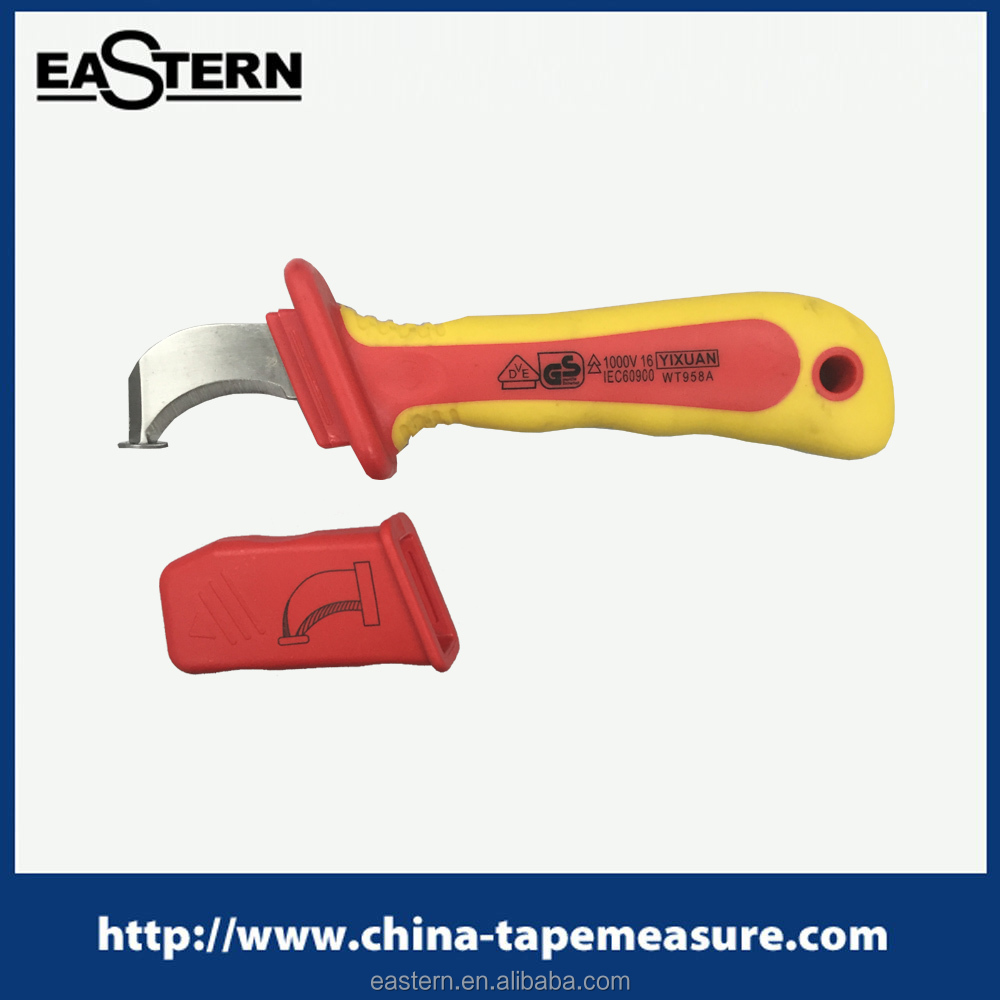 CK-02 VDE 1000V insulated cable stripping knife