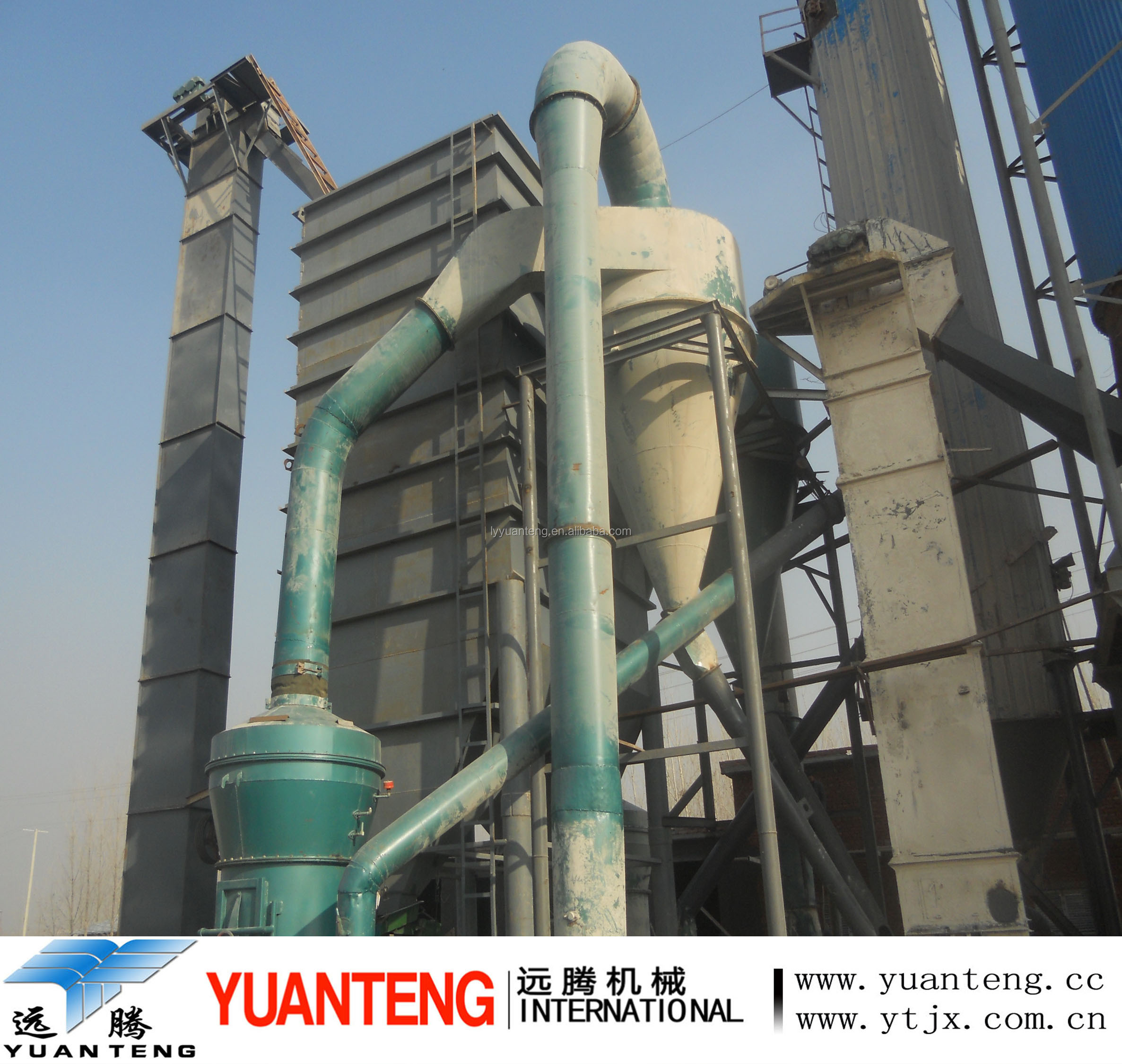 Gypsum powder production line 160 tons one day