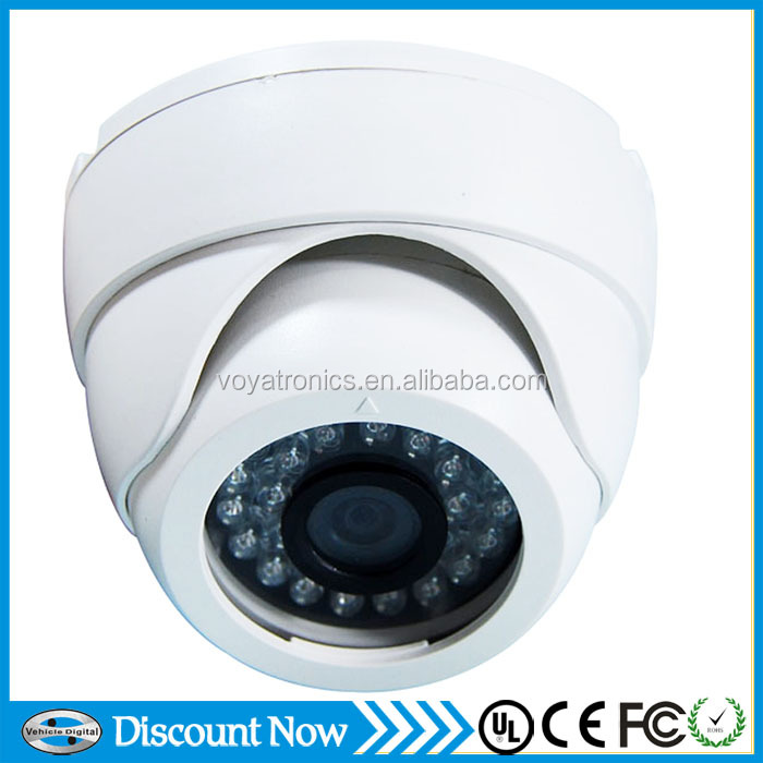 Zinc Alloy White Round High Resolusion 800TVL Night Vision Infared Car/Shop/Home/Company/Factory CCTV Camera VD-RC803w