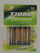 LR 6 AA 1.5v alkaline battery