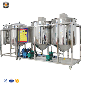 Small scale Sunflower seed oil deodorization machine vegetable oil refinery equipment