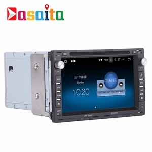 "Dasaita 7"" touch screen Android 7.1 car audio dvd player for VW Old Passat B5 Jetta Polo Bora Golf 4"