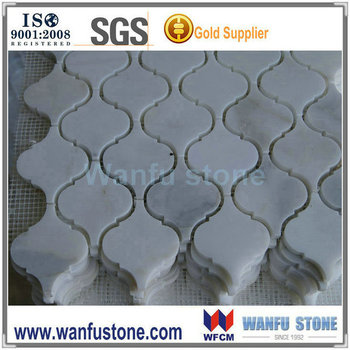 2015 natural home decorative white carrara marble mosaic wall tile hexagon marble tile backing mesh - Metal Tile Home 2015