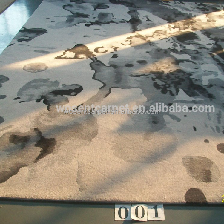 Chinese Handmade Cheap Commercial Oriental Wool Acrylic Hand Carved Carpet