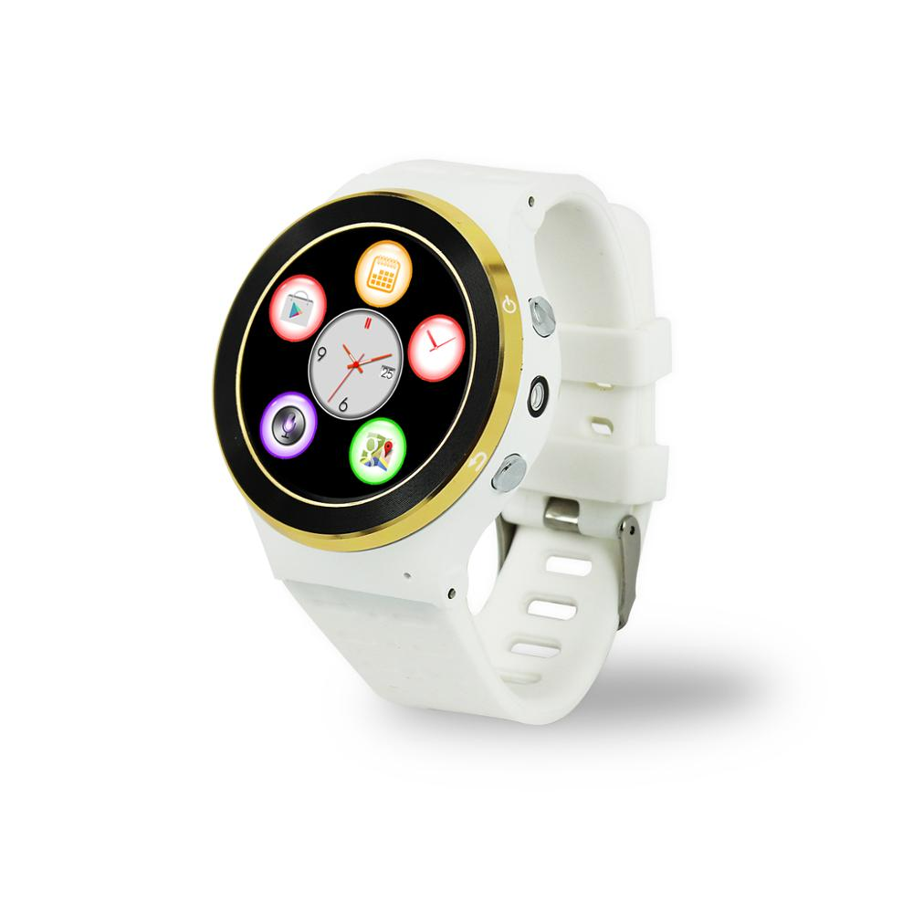 GPS Watch Tracker for Senior Citizen with LBS WIFI and GPS Three Way Location with Sim Card