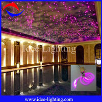 2013 new color changing 16W LED DIY fiber optic starry sky