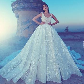 8ca30820a3 Elegante Custom Abito Sposa Da Pizzo Made Donna 2018 Abiti In wnAYxqggf