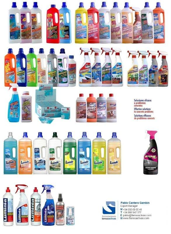 Productos de limpieza del hogar de espa a otros qu micos for Productos de limpieza