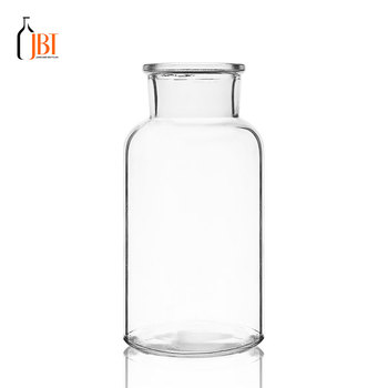 Different Size Wholesale Round Glass Cylinder Vase For Home