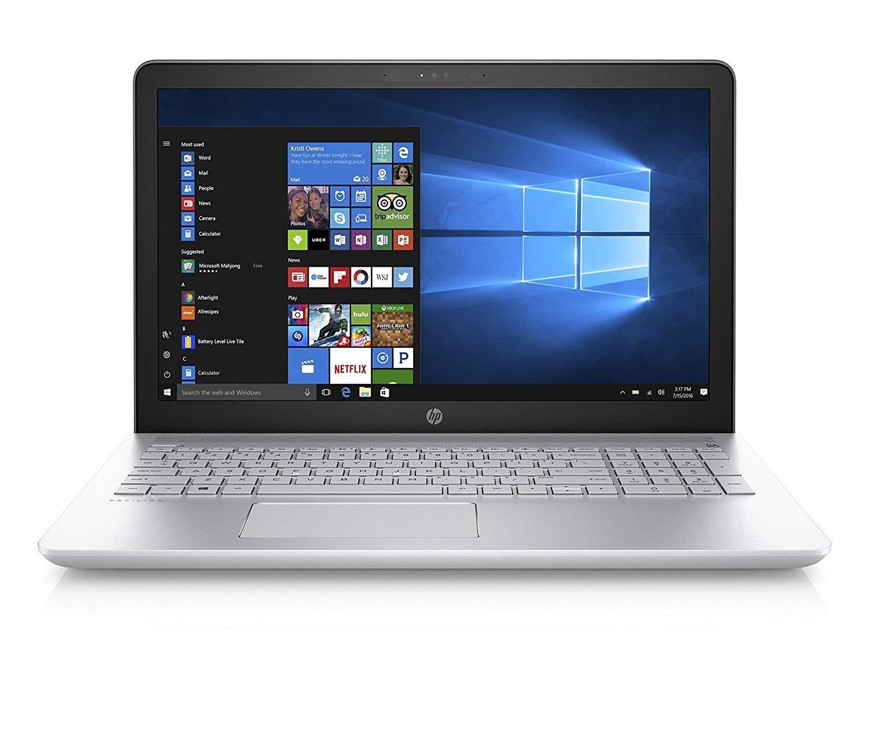 "Newest HP Pavilion Flagship Premium 15.6"" HD Laptop | Touchscreen | 7th Generation Intel Core i7-7500U Processor | 12GB DDR4 | 1TB HDD | DVD-Writer | Intel HD 620 | Windows 10 Home"