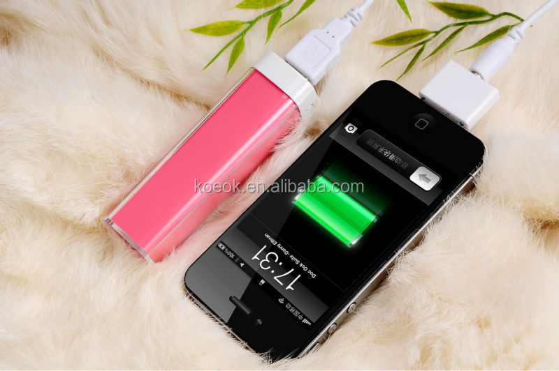 Make Your Own Lipstick Mould Power Bank