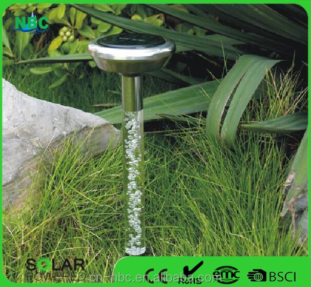estaca solar al aire libre luz de la decoracin de acrlico luz solar para jardn o