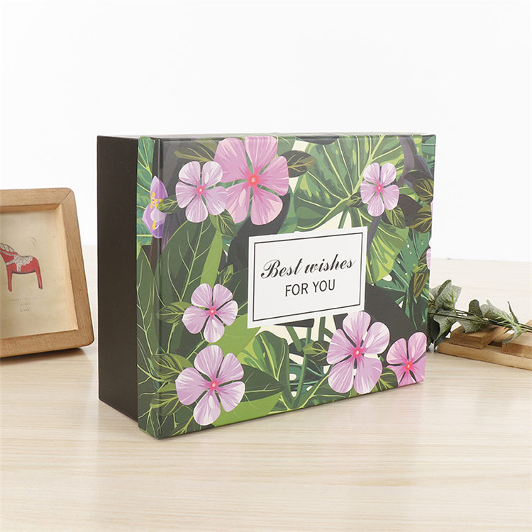 Wholesale Unique Printed Luxury floral gift box