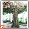 Home and garden artificial tree stumps with artificial ficus tree branches for sale