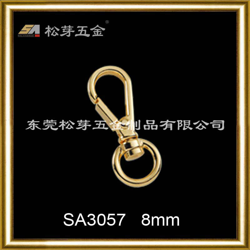 Reputed Metal Snap Hook For Bag hardware metal dog hook Songa metal 8mm