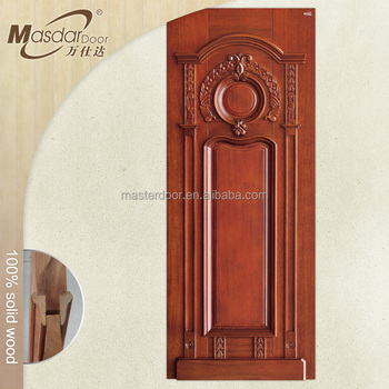 Art Deco Style Pdf Solid Wood Entry Door