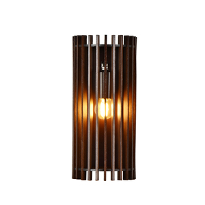 Hollow Design wall lighting lamp, indoor modern wood Vintage Led Wall Lamp For Hotel room