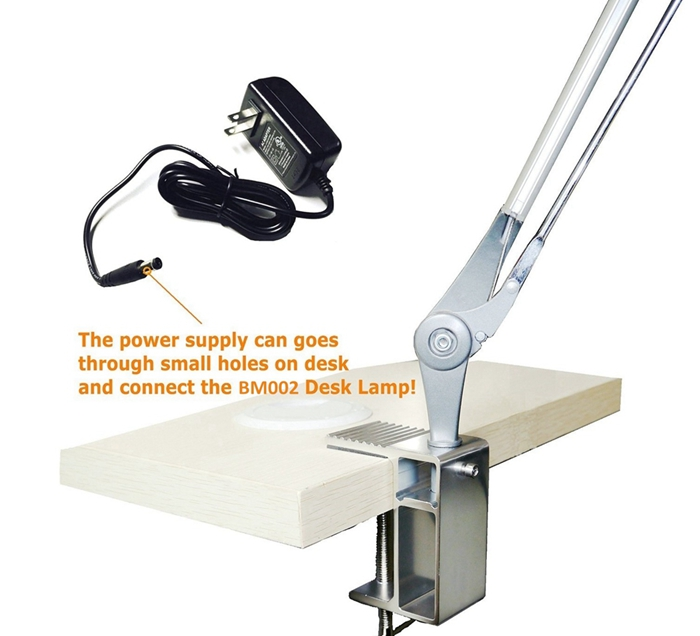 Modern Office Business Adjustable Clamp Flexible Arm Magnifying ...