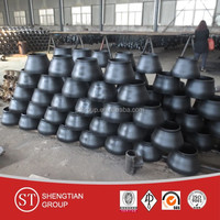 carbon steel pipe fittings pipe reducer