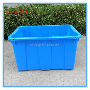 OEM HDPE heavy duty conductive airport plastic serving tray 670*490*390