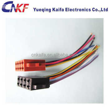 auto audio iso lead wiring harness connector iso 10487 buy audio auto audio iso lead wiring harness connector iso 10487
