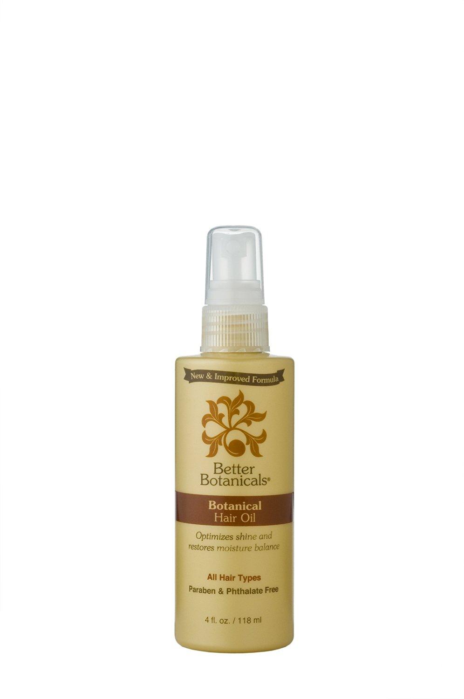 Better Botanicals Herbal Hair Oil, Deep Conditioning Scalp Treatment, 4-Ounce Bottle