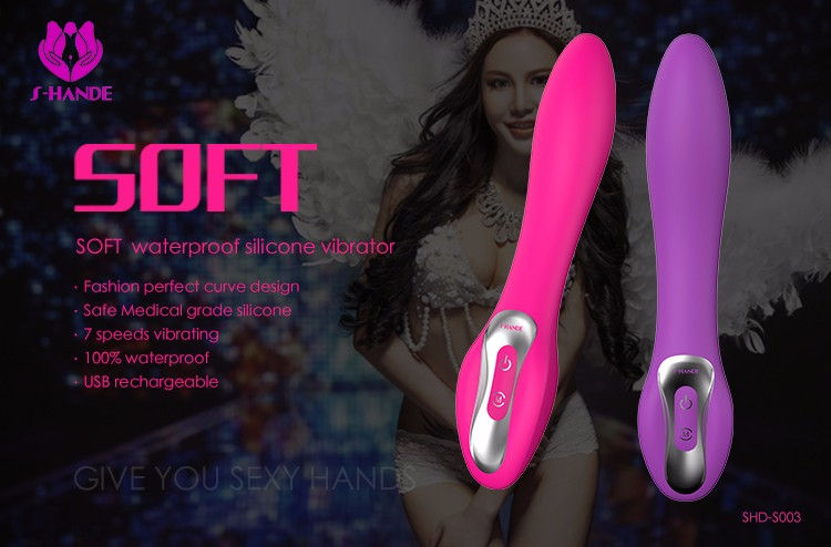 Sex toy for woman Lower price high quality rechargeable soft silicon female vibrator