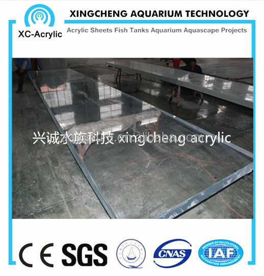 transparent acrylic glass sheet swimming pool