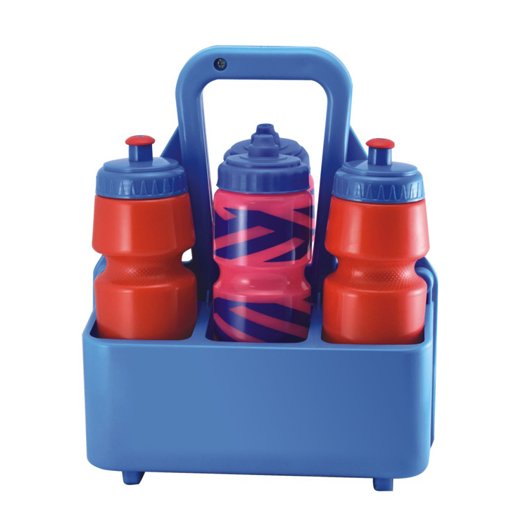 Eco Friendly 6 Pack Plastic Sport Water Bottle Carrier For 750ml Sports Beer