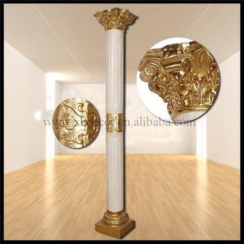 Frp Decoration Roman Column/pillar Home Decor/indoor Decorative Pillar  Design