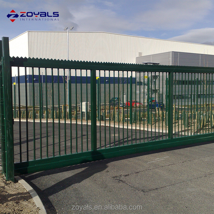 hot sale House usage motorized garden fence gate automatic sliding gate simple design
