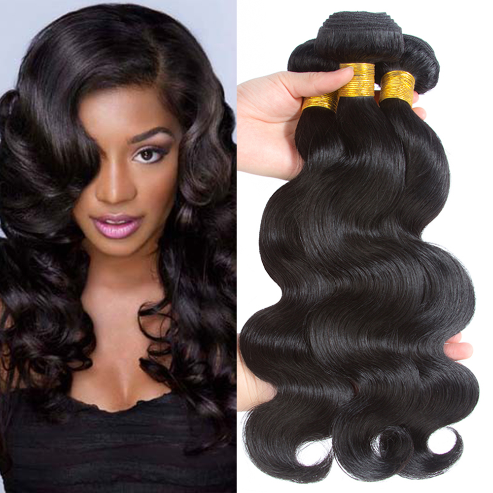 Grade 9A virgin hair cheap 100% human hair weave bundles 100% brazilian body wave