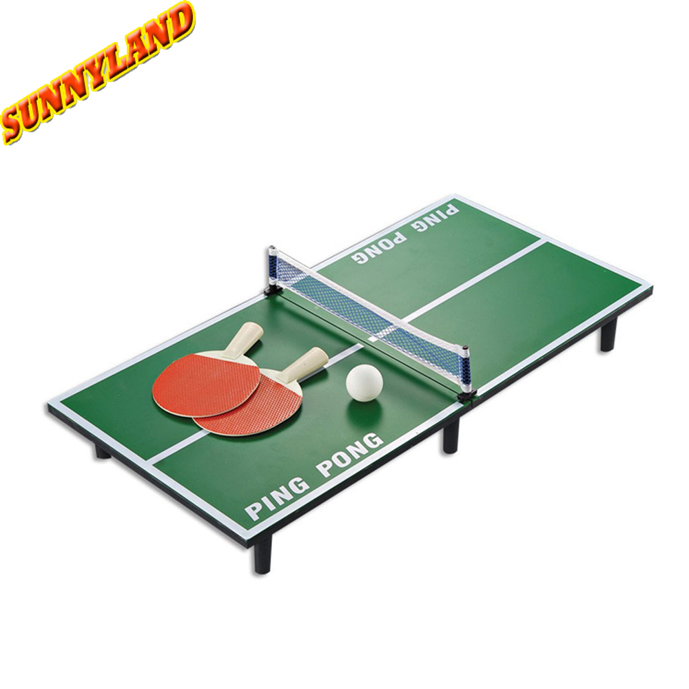Mini Tabletop Tafeltennis Sets Tennis Game Bal