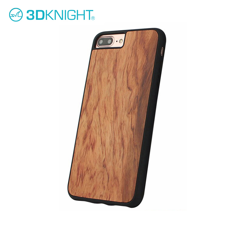 Unique Shockproof Wooden Cover Real Wood Case For iPhone 7/8 Plus