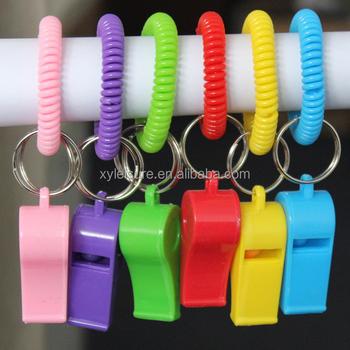 Plastic Bracelet Wrist Coil Key Holder