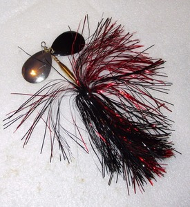 INLINE FLASHABOU SPINNERBAIT MUSKIE MUSKY BASS PIKE LURE