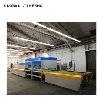 JFG1836 Horizontal Flat glass tempering furnace with convection