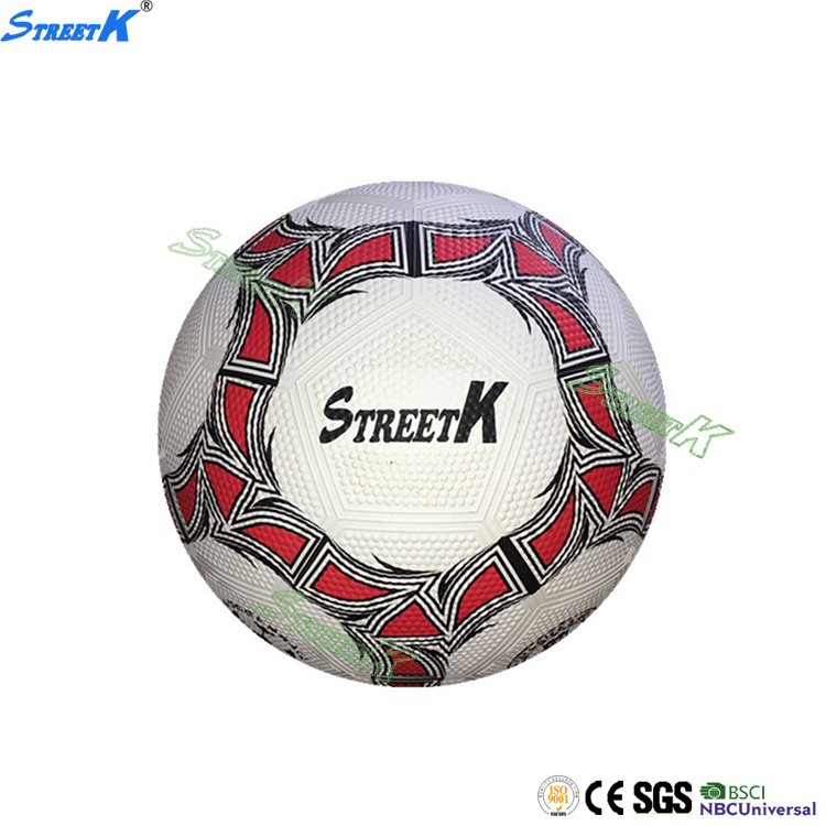 Streetk Brand foot ball & soccer wholesale custom rubber mini football size 1