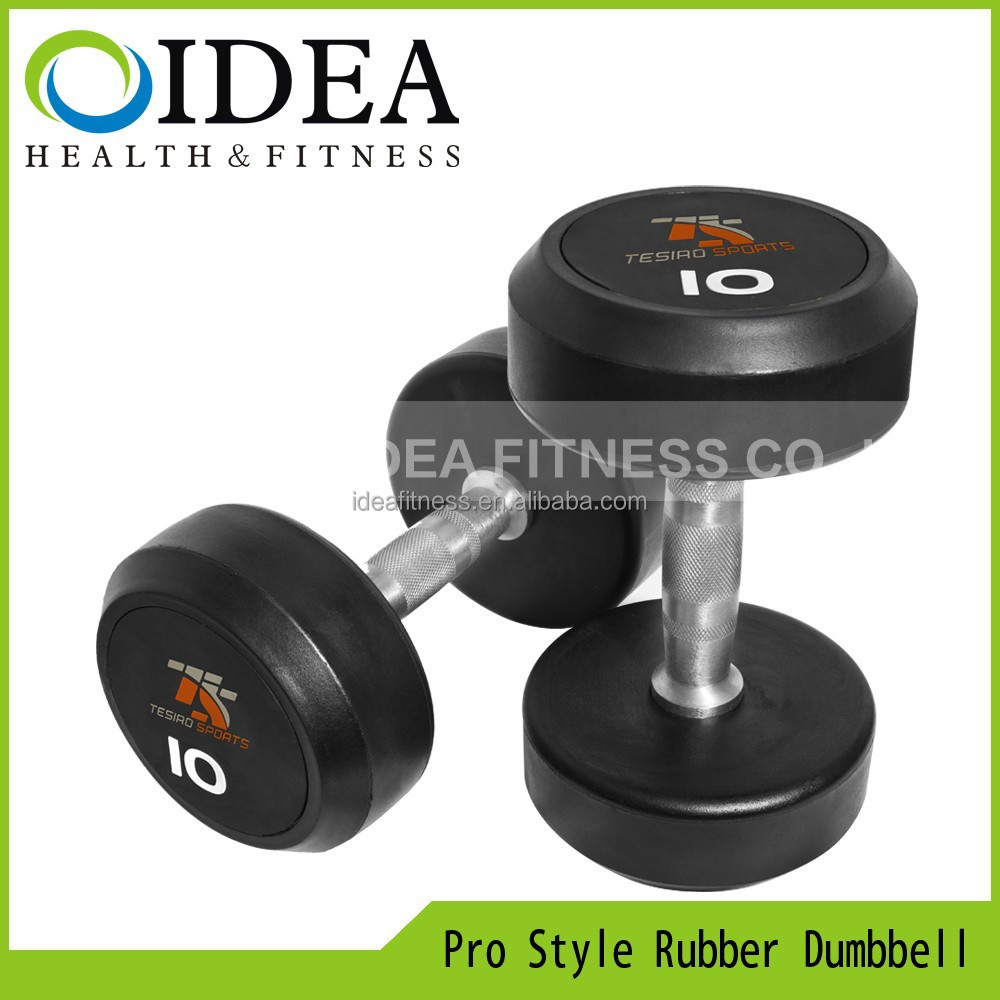 karet dumbbell