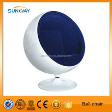 Eye ball chair, Egg ball pod chair, Fiberglass ball chair