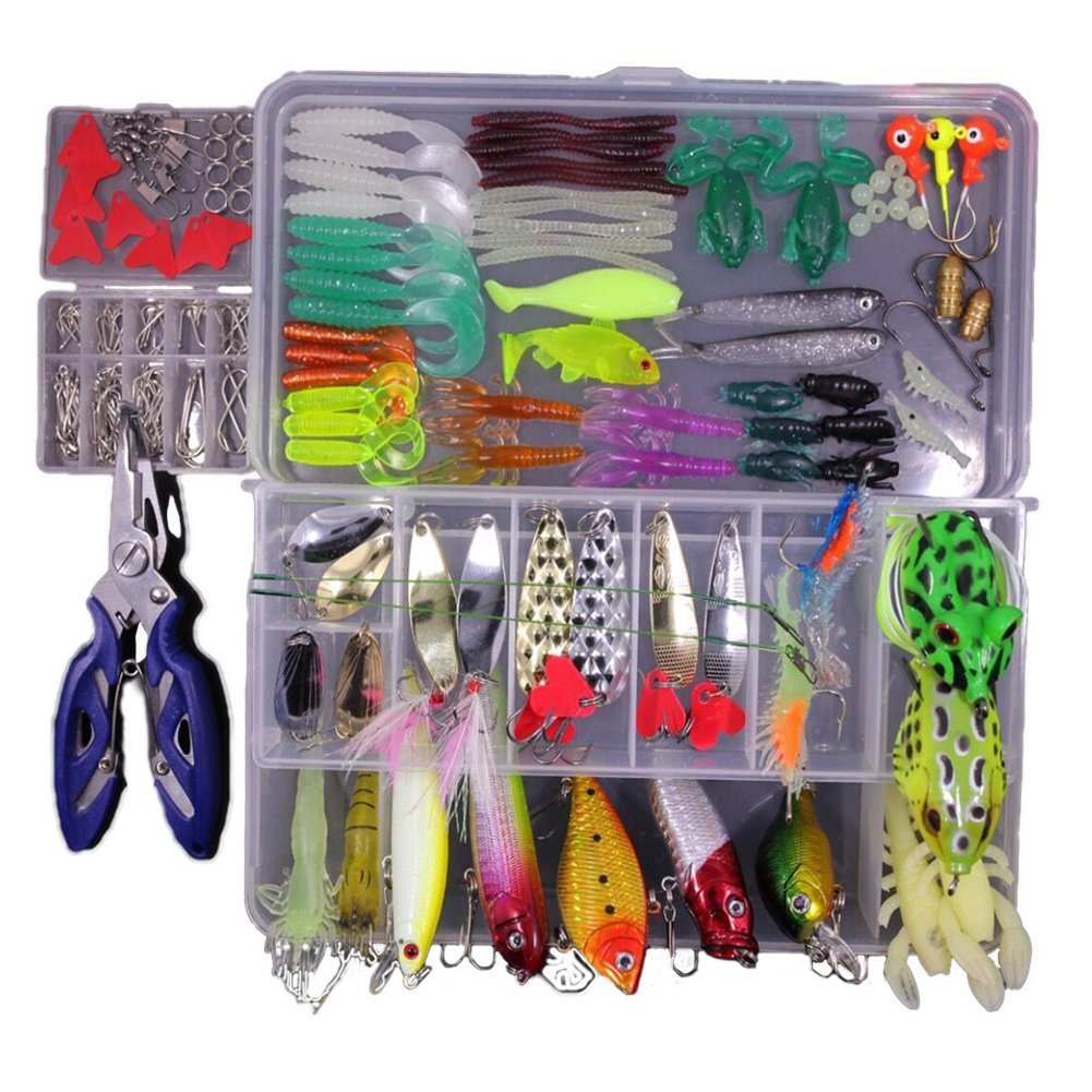 Cheap Bass Fishing Tackle Box Find Deals On Spoon Lure Spinner Bait Metal 10 Pcs Plus Get Quotations Topconcept Lures Kit Set For Trout Salmontopwater With Free Included Spinnerbaits