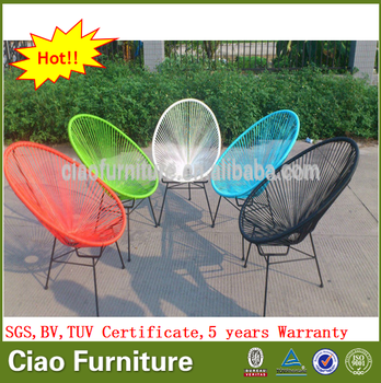 Por Elegant Chair Egg Shaped Patio Furniture