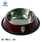 high quality printed stainless steel 800ml pet dog bowl 5