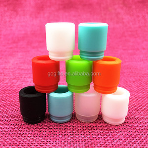 eGo Ecig Silicone Mouthpiece Cover Drip Tip Disposable Silicon Testing Caps Rubber short Test Tips Tester Cap Drip Tips For CE4