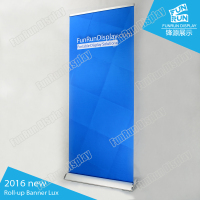 Promotion for Deluxe pull up banner stand