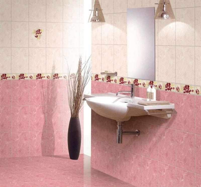 Esmaltado de cer mica de color rosa precio azulejos en la india alicatados identificaci n del - Fotos de pisos decorados ...